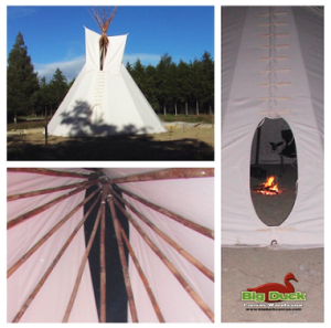 Authentic Canvas Tipis and Tents