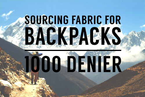 backpack fabric photo