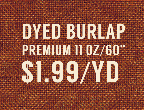 Burlap Fabric Discount Wholesale Supplier